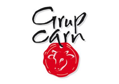 Logotipo-flotante-Grup-Carn_ok Logotipos, marca, diseño gráfico, Branding de empresa Sabadell Barcelona