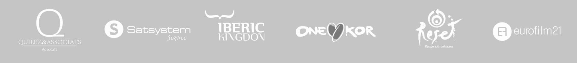 Logotipos + Marcas + Clientes